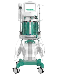 The OMNI® extracorporeal platform is intended to perform continuous blood purification treatments and therapeutic plasma exchange. The OMNI® in combination with OMNIset®* disposable kits is indicated for patients with acute kidney injury and/or fluid overload and/or intoxication. Source: obs/B. Braun Melsungen AG