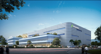 Straumann China: Campus Rendering Perspective
